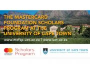 Mastercard Foundation Scholarship Opportunity for UCT