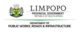 Limpopo Dept. of Public Works Graduate / Internship Programme